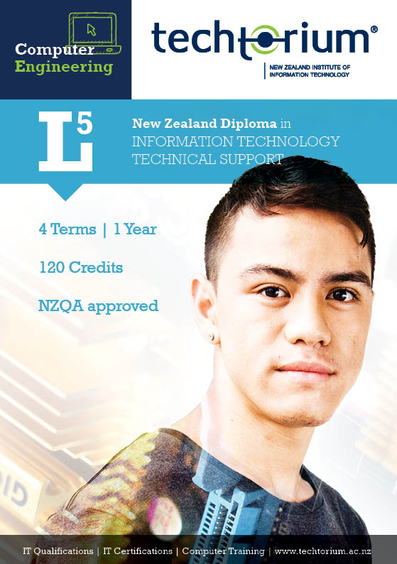 L5 New Zealand Diploma - Information Technology Technical Support