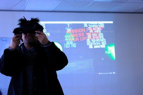 VR gaming at Techtorium