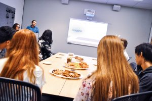 Slingshot presentation to students