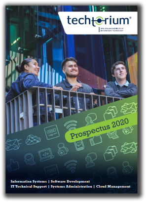 IT Courses Christchurch Prospectus Cover
